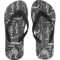 Chinelo Reef Switchfoot Lured Preto
