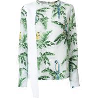 Stella Mccartney Blusa Estampada - Branco