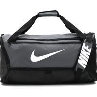 Bolsa Nike Brsla M Duff - 9.0 Cinza/Preta