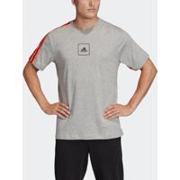 Camiseta Adidas 3S Tape Tee Masculina - Masculino