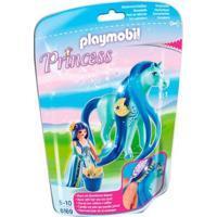 Playmobil - Soft Bags Princess - Princesa Com Cavalo - Sunny - Feminino-Incolor