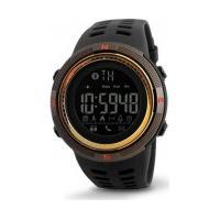 Relógio Skmei 1250 - Preto E Dourado