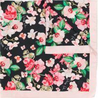 Philipp Plein Echarpe Floral - Rosa