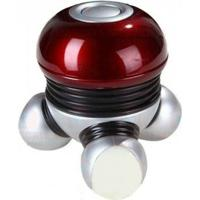 Mini Massageador Elétrico Portátil Liveup Ls5049A - Unissex-Vermelho