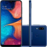 Smartphone Samsung Galaxy A20 32Gb A205 Desbloqueado Azul