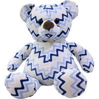 Pelúcia Minas De Presentes Urso Azul - Kanui