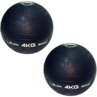 Bolas Medicine Slam Ball Para Crossfit 4 Kg Liveup - Unissex