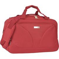 Bolsa De Viagem- Vermelha- 23X49X30Cm- Mc Queenmc Queen