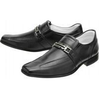 Sapato Social Mafisa - Masculino-Preto