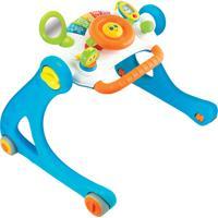 Andador Pequeno Motorista Com Atividades Winfun Azul