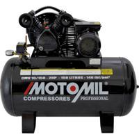 Compressor De Ar 2Hp Monofásico 110/220 Volts Cmv-10/150 Motomil
