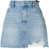 Diesel Mini Saia Jeans - Azul