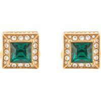Dolce & Gabbana Abotoaduras Quadradas Com Aplicações - Dourado