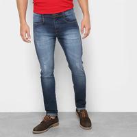 Calça Jeans Skinny Opera Rock Masculina - Masculino-Jeans