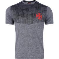 Camiseta Do Vasco Da Gama Grind - Masculina - Cinza