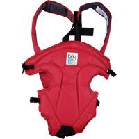 Canguru Passeio Angel Bebe Bag Vermelho