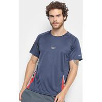 Camiseta Speedo Line Masculina - Masculino-Marinho