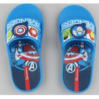 Chinelo Slide Infantil Ipanema Os Vingadores Azul