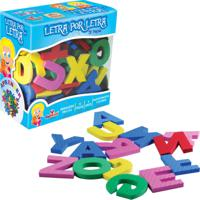 Brinquedo Educativo Letra Por Letra Ciabrink Colorido