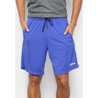 Bermuda Adidas E 3S Shrt Masculina - Masculino-Azul+Branco