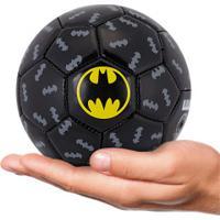 Minibola De Futebol De Campo Liga Da Justiça Batman - Infantil - Preto