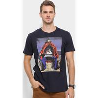 Camiseta Reserva Gaiola Masculina - Masculino-Marinho