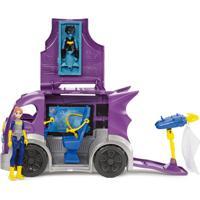 Boneca E Veículo Com Acessórios - Dc Super Hero Girls - Batgirl - Mattel - Feminino-Incolor