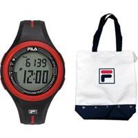 Relógio Fila Pedometro Active Com Bolsa - Masculino