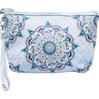 Necessaire Minas De Presentes Mandala Azul