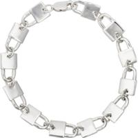 Hatton Labs Bracelete Com Cadeado - Prateado