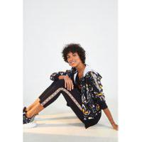 Calca Legging Adidas Floral Star