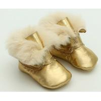Bota Metal Ourodourado - Feminino-Dourado