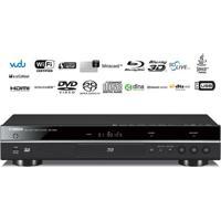 Yamaha Bd-S681 Blu-Ray Player 3D 4K Ultrahd Wifi Miracast Usb Mp3 Flac Alac Sacd Preto