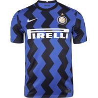 Camisa Inter De Milão I 20/21 Nike - Masculina - Azul