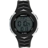 Relógio Speedo 80621G0Evnp2 Preto/Prata