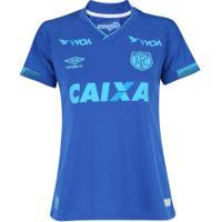 Camisa Do Avaí Iii 2017 Umbro - Feminina - Azul