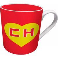 Caneca Chapolin Logo Geek10 Vermelho