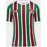 f5583c545 Netshoes; Camisa Fluminense I 17/18 S/Nº Torcedor Under Armour Masculina -  Masculino