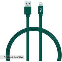 Cabo Lightning Para Iphone- Verde- 120Cm- Usb