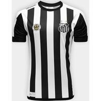 Camisa Santos Ii 17/18 S/Nº Réplica Torcedor Kappa Masculina - Masculino