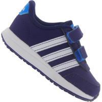 Tênis Adidas Neo Vs Switch 2 Cmf Bb - Infantil - Azul Esc/Azul
