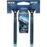 Aparelho De Barbear Enox Expert Para Homens 2Un - Masculino-Incolor