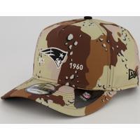 Boné New Era Nfl New England Patriots 940 Marrom