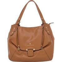 Bolsa Couro Smartbag Tiracolo Caramelo - 75096