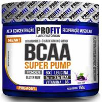 Aminoácido Bcaa Powder Super Pump - Profit - 150G - Unissex