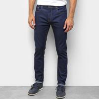 Calça Jeans Skinny Calvin Klein Lisa Masculina - Masculino-Marinho