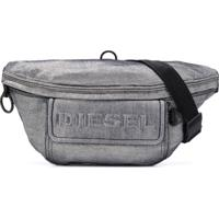 Diesel Pochete Jeans - Prateado
