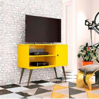 Rack Reale Amarelo 90Cm