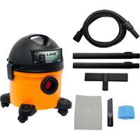 Aspirador De Pó E Liquido Lavor Compact 12 Lt Lr 1250W Portátil