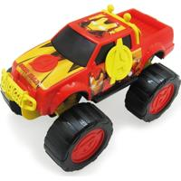 Carrinho Roda Livre - 28 Cm - Monster Truck - Avengers - Iron Man - Marvel - Toyng - Masculino
